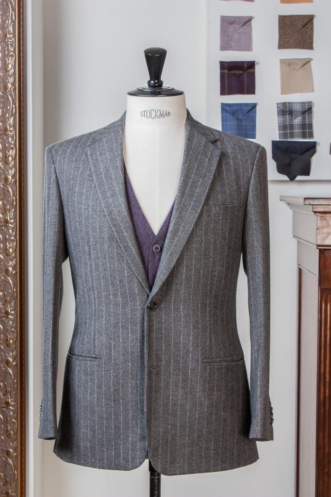 Gray+Grey+Flannel+Chalkstripe+3+piece+Suit+-+2+buttons+-+Paisley+Lining+-+Purple+Waistcoat+-+Fishtail+Trousers+buckle+and+turnup+(2).jpg
