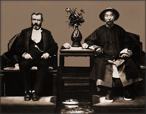 Ulysses S. Grant & Li Hung Chang 1874