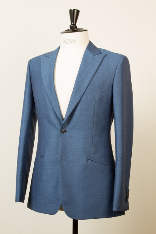 Single-Breasted Blue     Mohair Suit.   Click here to see the complete portfolio.