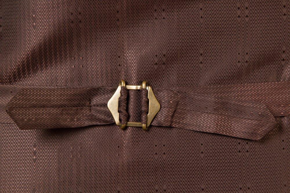6954+-+Waistcoat+Vest+Gilet+tailor+made+Rust+Herringbone+38+inch+(11).jpg