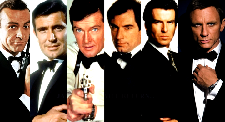 James Bond, Popular Culture's mascot of the tuxedo.