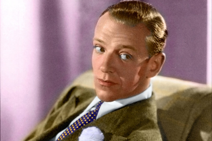 American actor/dancer/singer Fred Astaire owes part of his fame to his attire