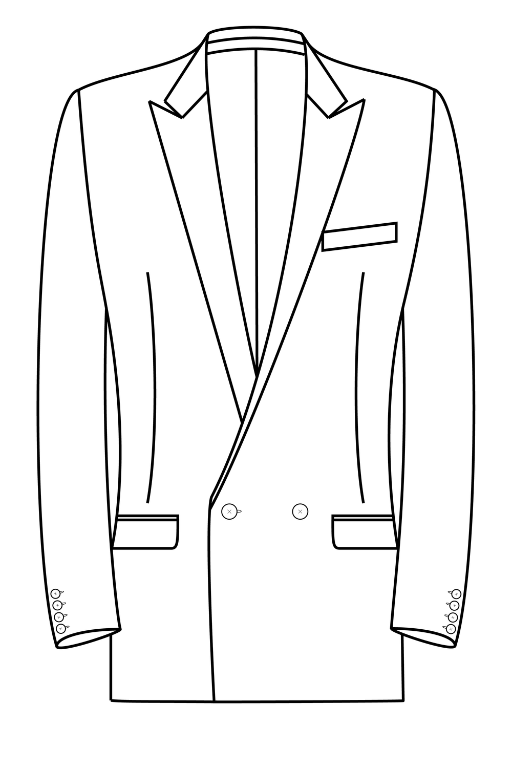 2x1 button peak lapel straight pockets suit jacket.png