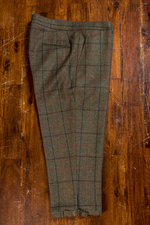 - Hunters Outfit Golf Tweed FourPlus Trousers