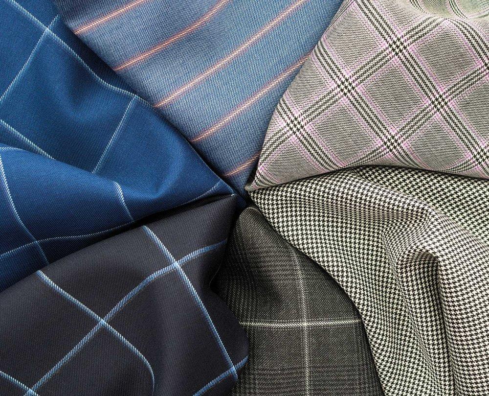 HS1825A/B 240grm 7.5ozCASHIQUE suit jacket trousers fabric
