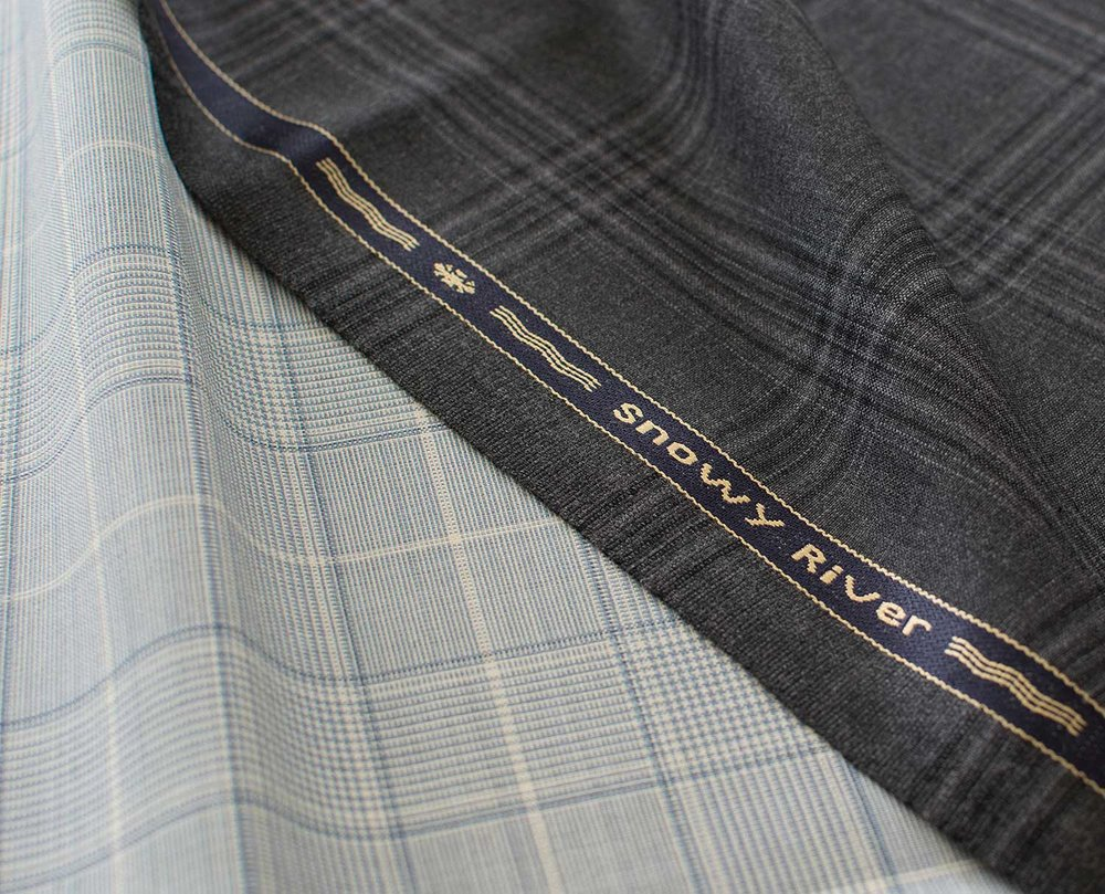 HS1836 225grm 7oz SNOWY RIVER LIGHTWEIGHT suit jacket trousers fabric