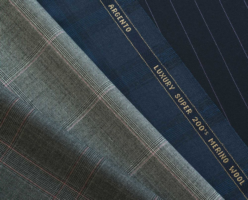 HS1842 240grm 7.5ozARGENTO jacket uit trousers fabric