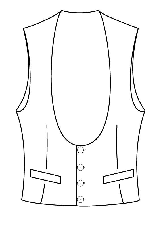 4 button rounded waistcoat.png