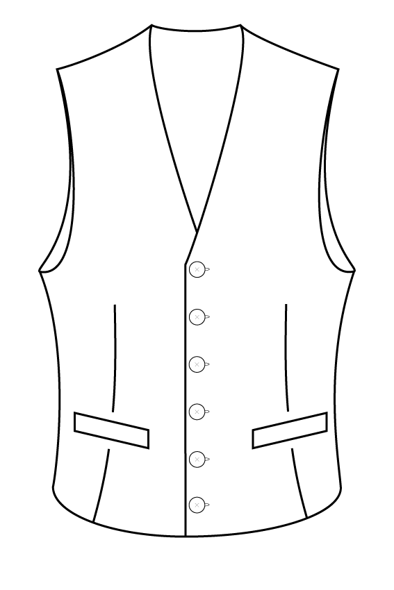 6 button rounded bottom waistcoat.png