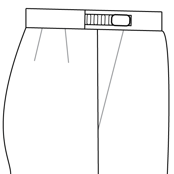 Internal Adjustable Waistband trousers waistband.png