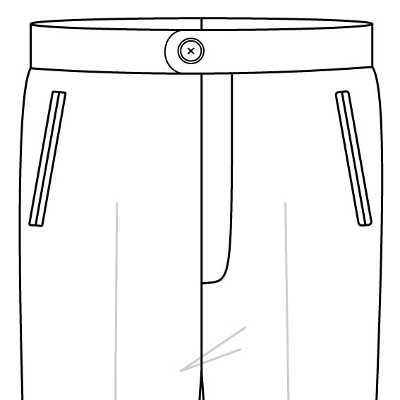 welted pockets trousers front pockets.png