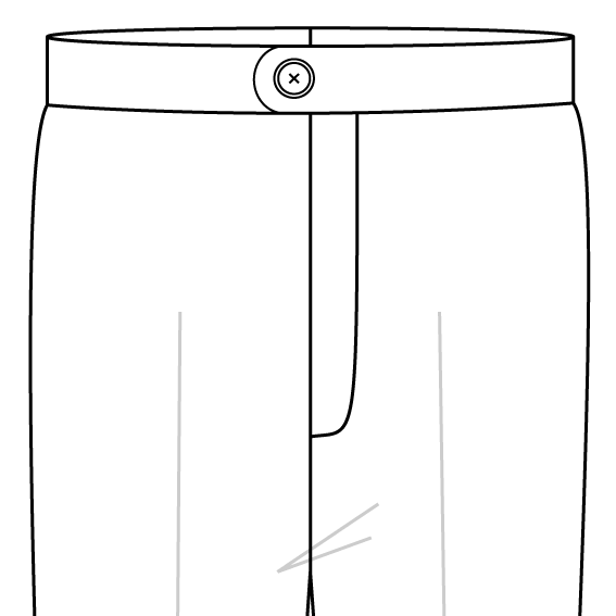 no pleats trousers style.png