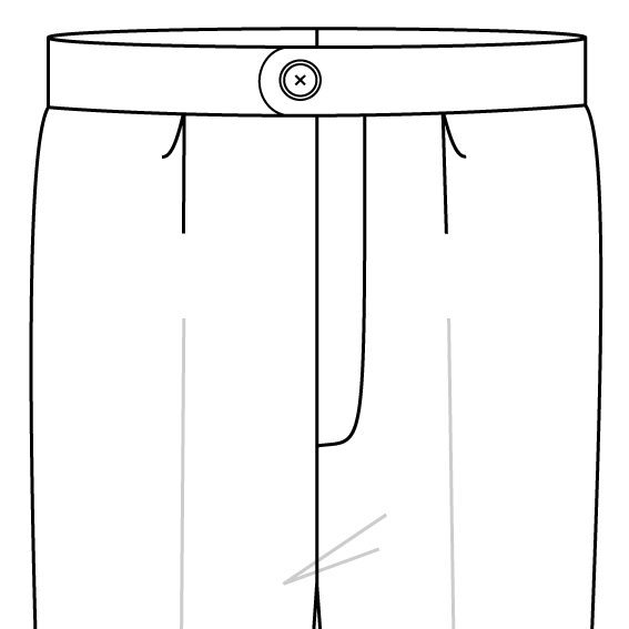 single pleat trousers style.png