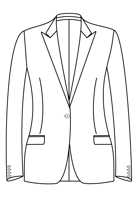 1 button peak lapel straight pockets ladies jacket blazer suit bespoke tailor made amsterdam.png