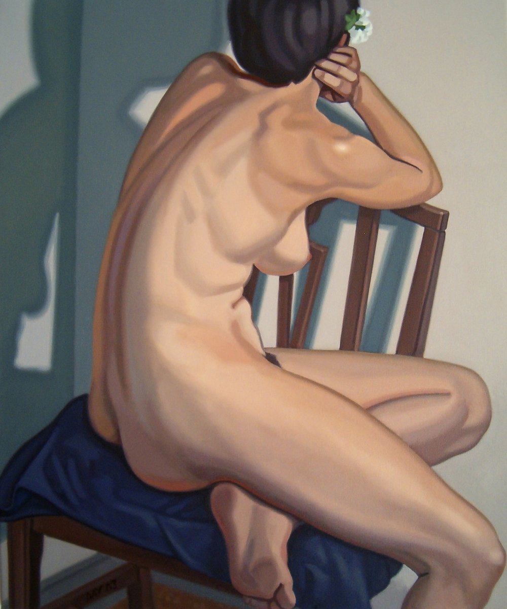 Nude with Shadow