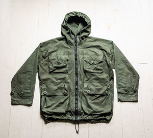 e3fbf88b03e9a Vintage VENTILE British SAS-Style Windproof Jacket Smock. Olive Drab ...
