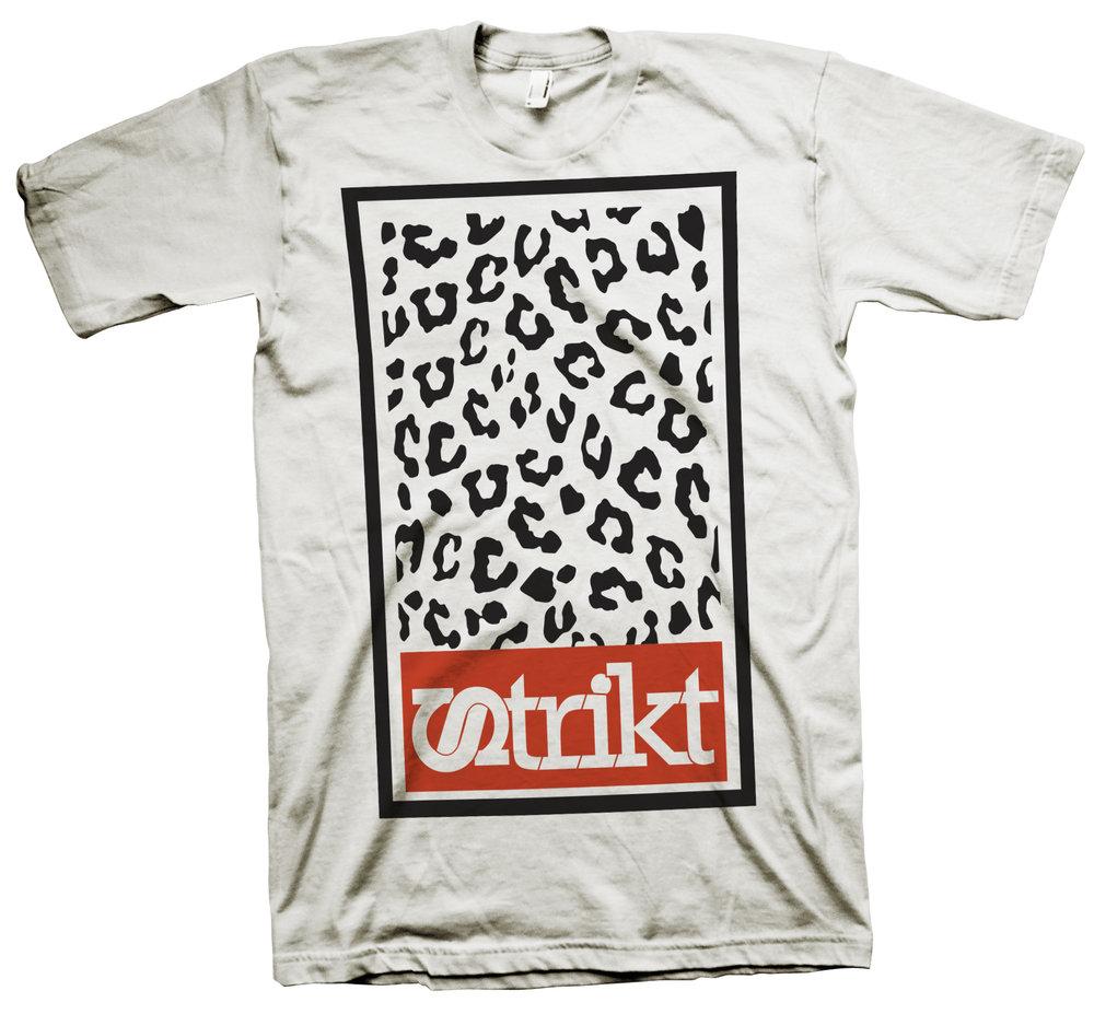 TSHIRT Strikt OBEY leopard  WHITE.jpg
