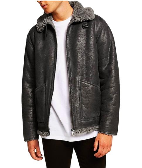 Topman Shearling Jacket