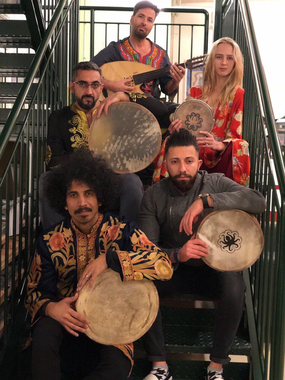 Shather band