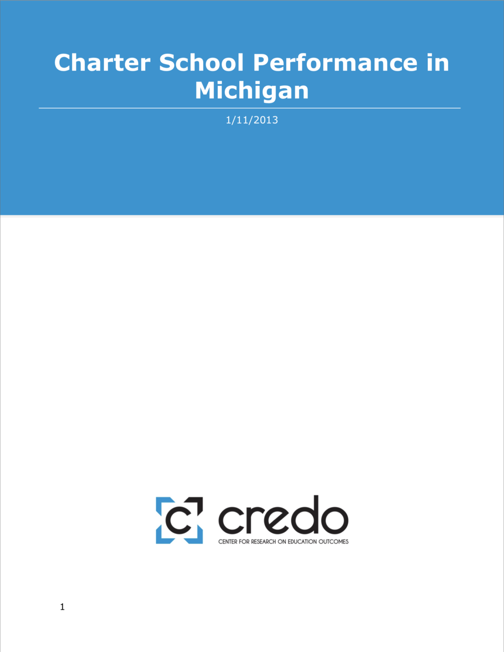 MI Public Charter Achievement - A study from CREDO — a Stanford-based research group well known for its public charter school research — found that public charter schools in Michigan, and especially Detroit, moderately outperform district schools. The state's for-profit public charter schools, if anything, perform better than non-profit public charter schools, according to CREDO, and, unlike in most other states, online public charter schools in Michigan do just as well as other schools.