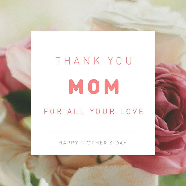 Happy Mother's Day to all the wonderful, selfless, and loving mamas! You all deserve everything and more! Enjoy today ❤️❤️❤️ #mothersday #mothersday2018 #mothersdayweekend