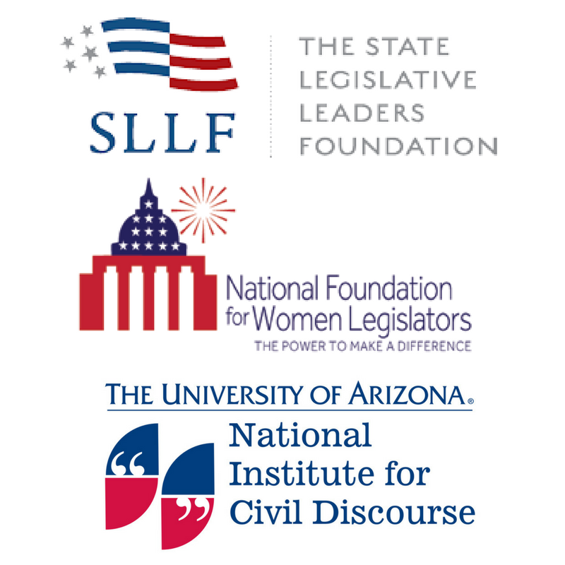 State Legislative Leaders Foundation, National Institute for Civil Discourse, National Foundation for Women Legislators -