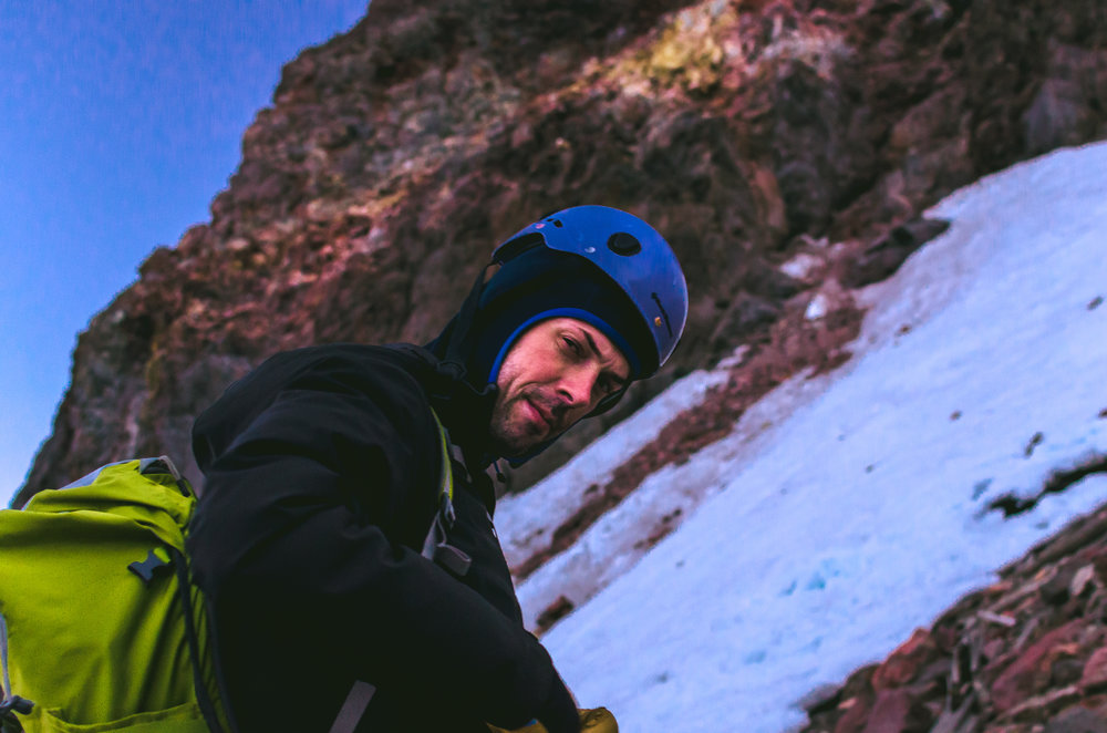 Wito S., Sport Climber, Mt. Adams, Washington