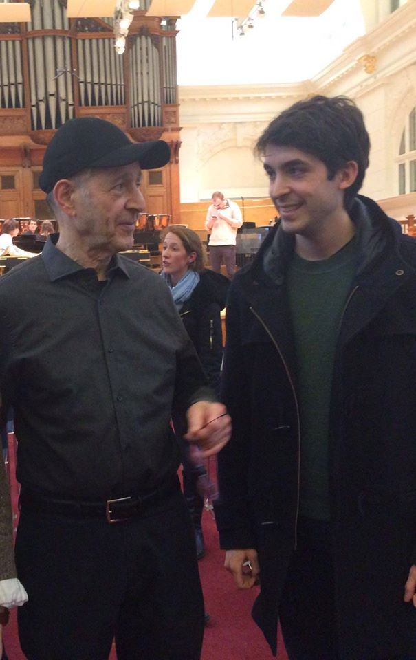With Steve Reich (2016)