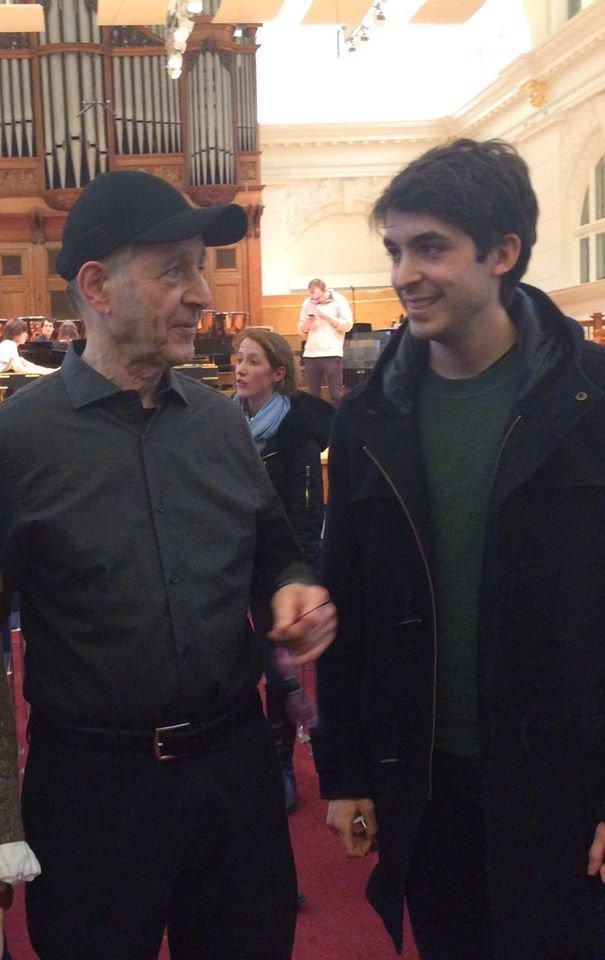 Con Steve Reich (2016)
