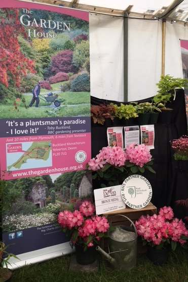 The Devon County Show stand 2018 - we're in the pink!