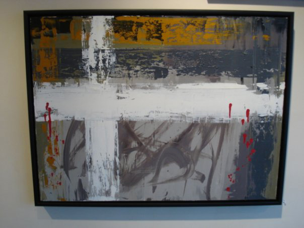 "Golgatha II - Oil/Acrylic on Canvas (36 x 24"")"