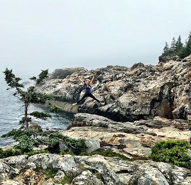 #life — a grand, joyous, exciting #adventure if you so choose to live it.  Happy #monday morning from Acadia National Park. God bless the USA! 🇺🇸 •••••••••••••••••••••••••••••••••••••••••• @acadianps @nationalparkservice @visitmaine  #travel #viaje #mondaymotivation #maine #americathebeautiful