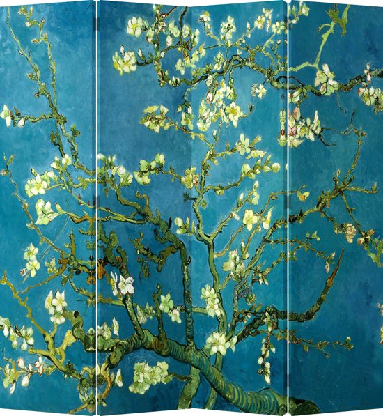Van Gogh,  Amandelbloesem.  1890; Amsterdam.