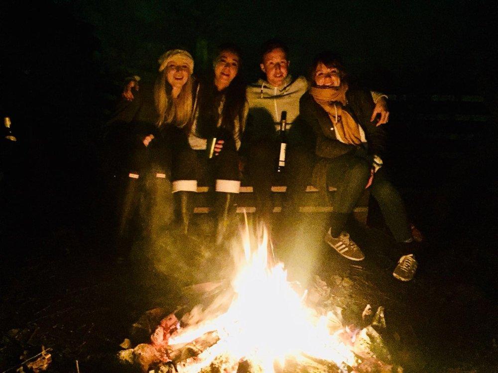 Campfire Evening
