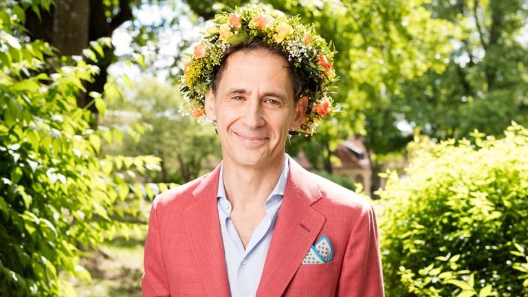 David Lagercrantz. Foto: Mattias Ahlm/Sveriges Radio