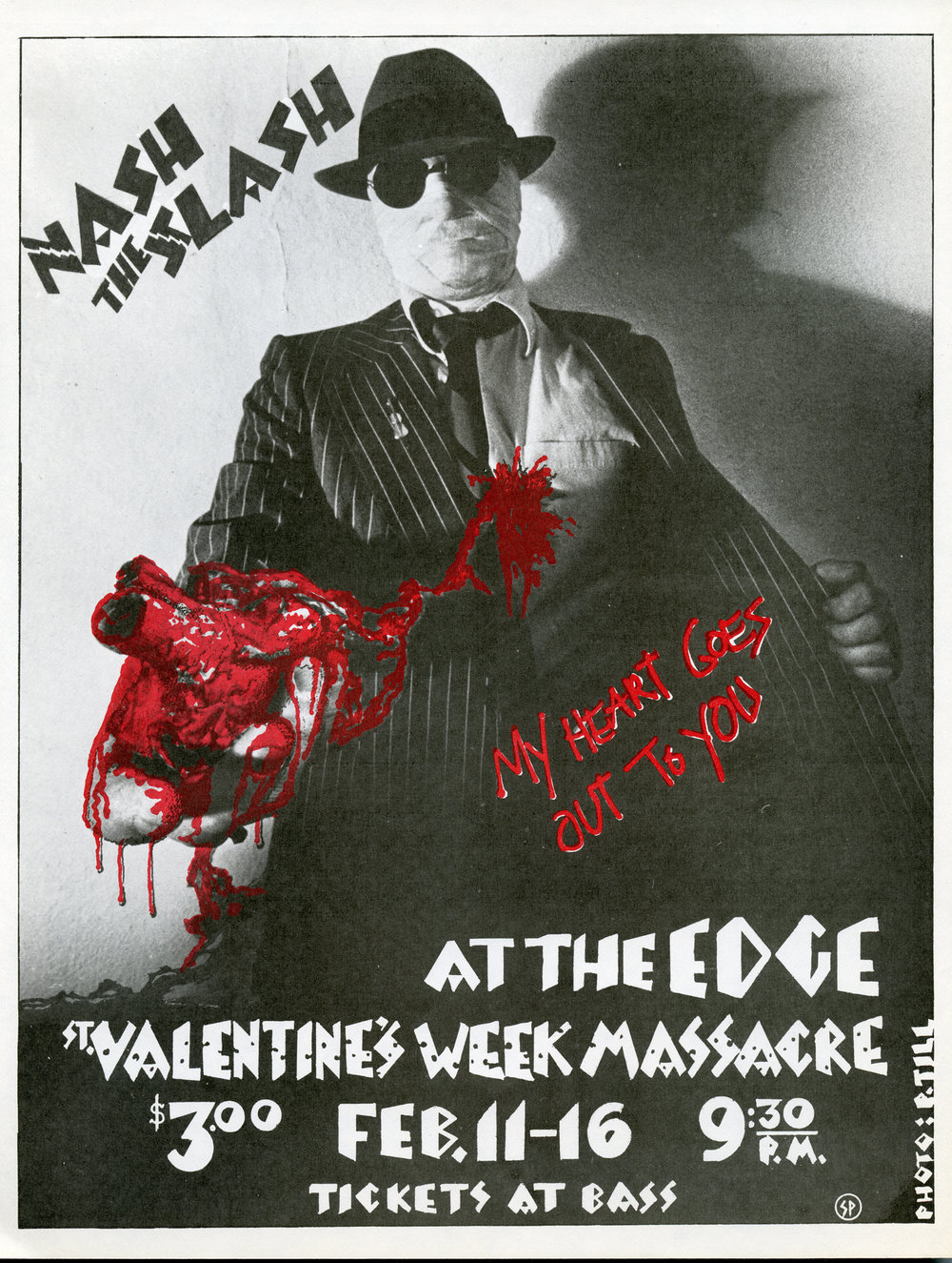 St. Valentine's Week Massacre, design by Nash and photographer Paul Till, 1980.