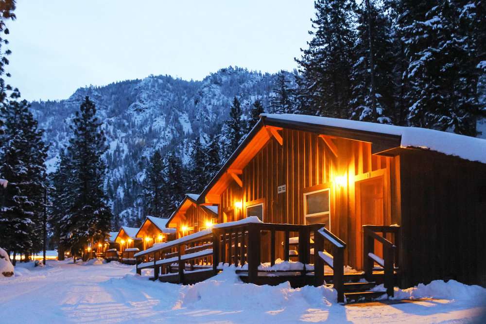 Canyon Cabins - Featuring two queen-sized beds, these comfortable and affordable cabins are perfect for families and small groups.