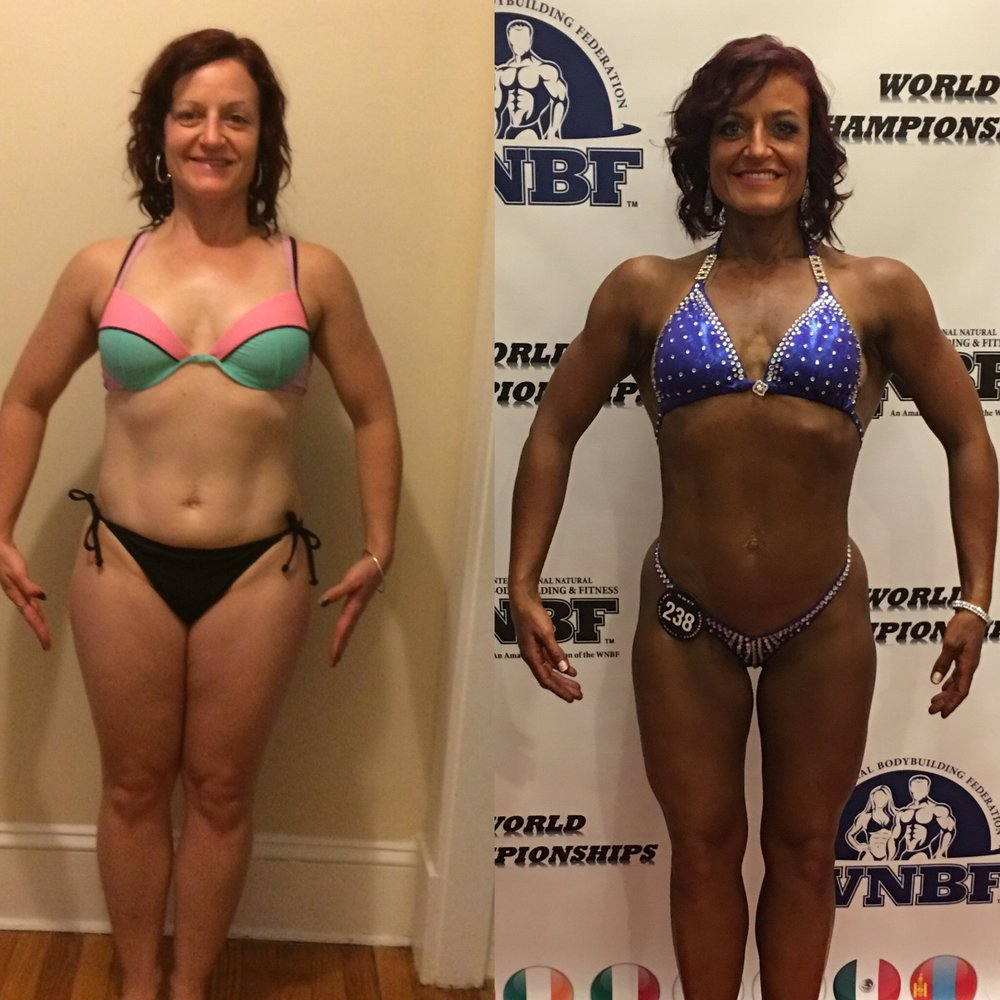 Heather Lederman - amazing mom, wife, figure competitor and friend!