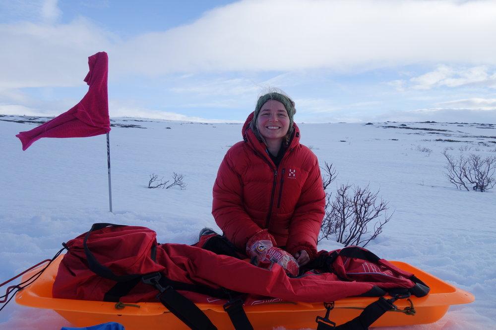 Behagelig viddelandskap nord-øst på Hardangervidda. Foto: Iselin Spernes.