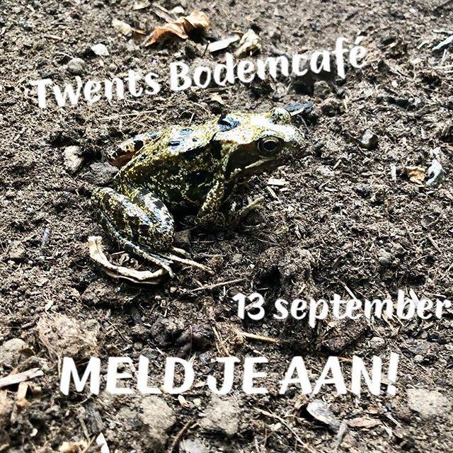 Op donderdag 13 september organiseert OnderTwente opnieuw een TwentsBodemcafé @indiealmelo  Met interessante presentaties/pitches & natuurlijk als afsluiting de 'bodemborrel'! Meld je nu snel aan via j.warmerdam@enschede.nl! Voor het volledige programma neem een kijkje op www.ondertwente.nl ! Meld je aan! #ondertwente #stadslabindië #almelo #ondergrond  #bodem #samenwerken #regiotwente #bewustbodemgebruik #pitch #initiatieven #omgevingsvisie