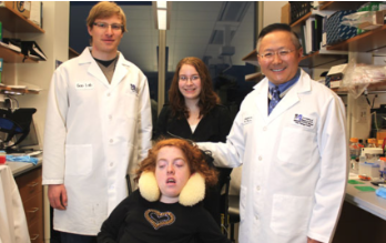 Dr. Guangping Gao and Dr. Dominic Gessler.