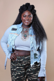 Danielle Brooks at Beautycon New York