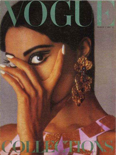Donyale Luna's 1966 Vogue Cover
