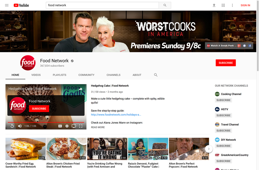 YouTube - Channel Header