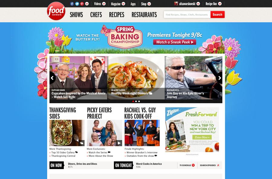 Food Network - Brandscape