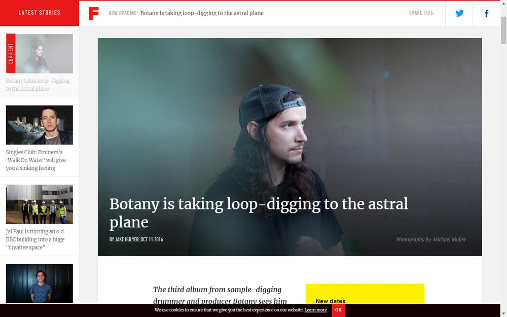 Fact Magazine Premieres Botony Track