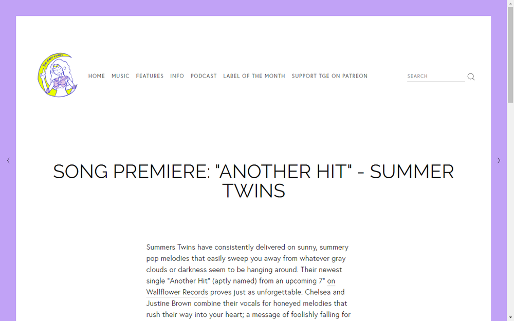 The Grey States Premiere New Summer Hits Track