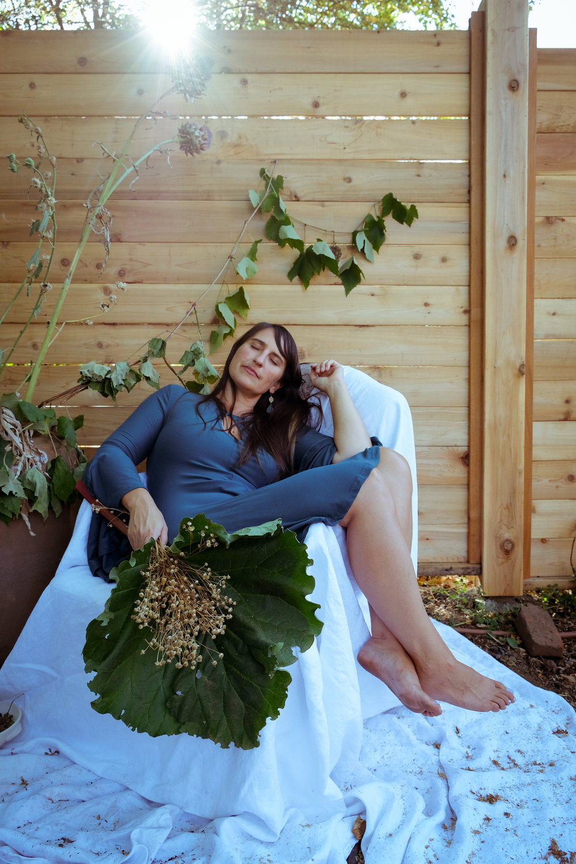 Beauty - the romanceof late summer fruitand dried herbs...