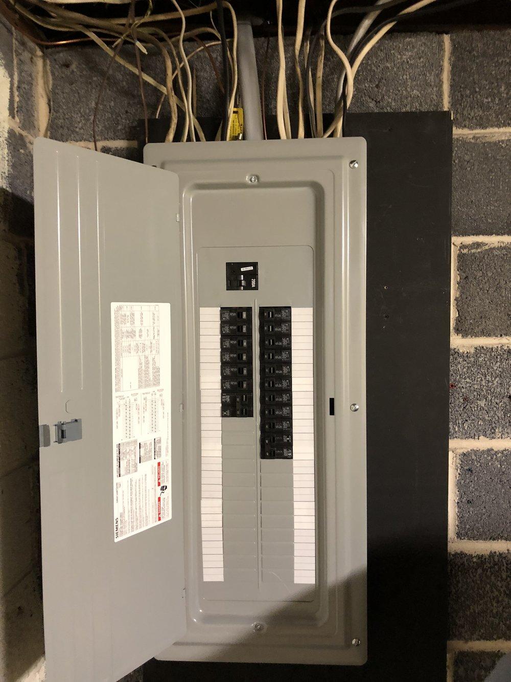 100 amp panel
