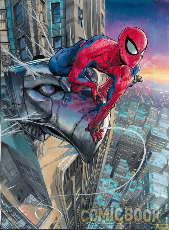 Spider-Man art by Yusuke Murata